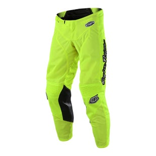Troy Lee GP AIR Mono MX Motocross MX Hosen - Flou Yellow