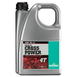 Motorex Crosspower Synth 4T 10/50 1 Litre MA2 , Engine Oil - 4 Litres