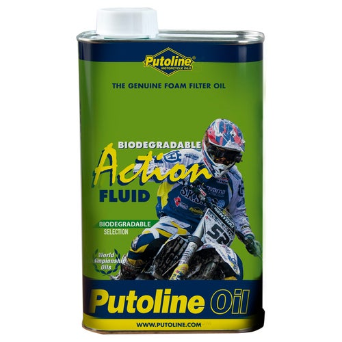 Putoline Action Fluid Aerosol 600 Ml Air Filter Oil - 1 Litre