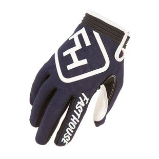 Fasthouse Speed Style Motocross Gloves - Navy