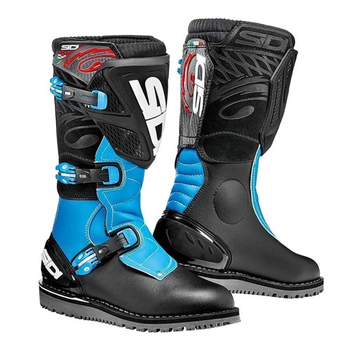Trials Boots Sidi Trial Zero 1 - Black Light blue