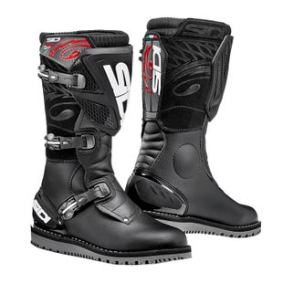 Sidi Trial Zero 1 Trials Boots - Black