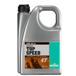 Motorex Top Speed 4T 10W 40 1 litre Engine Oil - 4 Litres