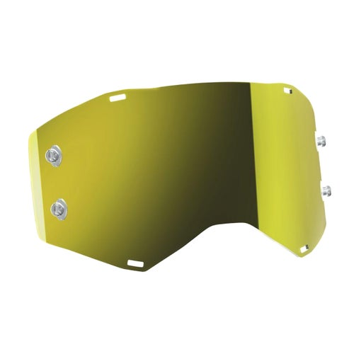 Scott Sports Prospect Motocross Goggle Lense - Yellow Chrome