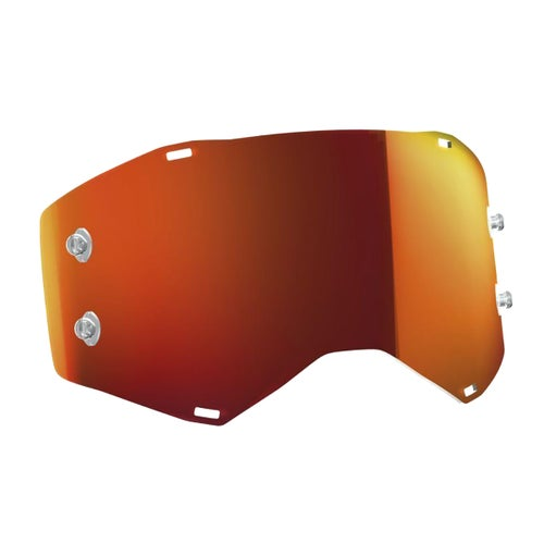 Scott Sports Prospect Motocross Goggle Lense - Orange Chrome