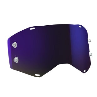 Scott Sports Prospect Motocross Goggle Lense - Purple Chrome