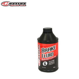 Maxima Brake and Clutch Fluid Dot 5 Universal Silicone Supreme 325ml , Brake Fluid - Clear