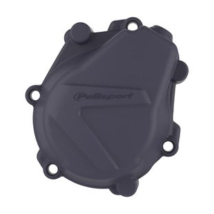 Polisport Plastics IGNITION COVER PROTECTOR KTM HUSKY EXCF450 500 1718SXF450 161 , Ignition Cover - Black