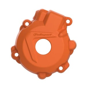 Polisport Plastics Ignition Cover Protector KTM EXCF250 1416 Ignition Protector - Orange