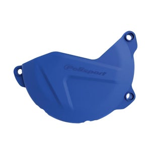 Polisport Plastics Clutch Cover Protector Yamaha WRF450 1617 , Ignition Protector - Blue
