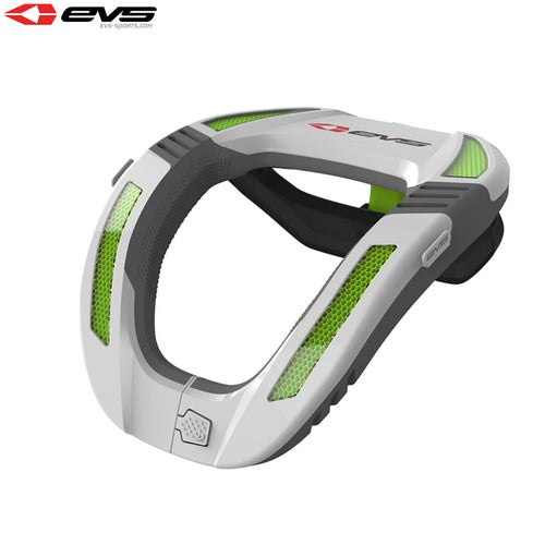 Neck Brace EVS YOUTH R4K Koroyd Neck Protector - White Green