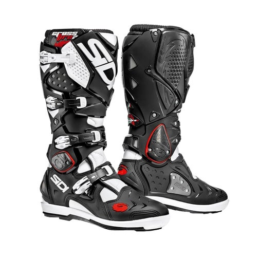 Bottes MX Sidi Crossfire 2 SRS - Black White