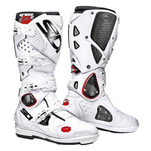 Bottes MX Sidi Crossfire 2 SRS - White White