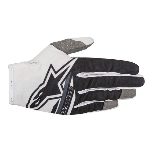 Alpinestars Radar Flight Motocross Gloves - WHITE BLACK