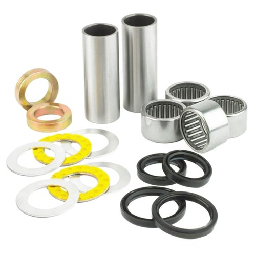 All Balls Swing Arm Bearing And Seal Kit Honda CRF250X 04 , Swing Arm Bearing Kit - Multi