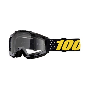 100 Percent Accuri YOUTH Motocross Goggles - Pistol ~ Clear Lens
