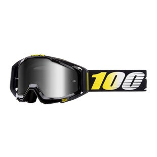 100 Percent Racecraft Abyss Motocross Goggles - Cosmos 99 ~ Mirror Silver Lens