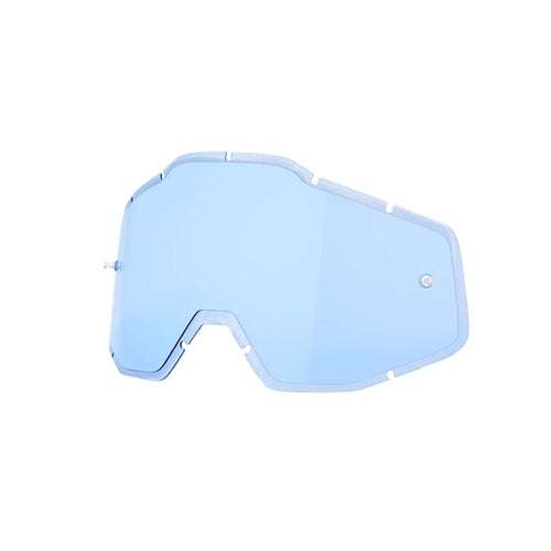 100 Percent Racecraft Accuri Strata Motocross Goggle Lense - Blue Anti-fog Injected
