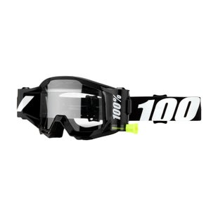 100 Percent Strata Forecast Motocross Goggles - Outlaw ~ Clear Lens