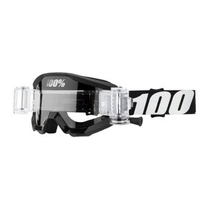 100 Percent Strata Roll Off Motocross Goggles - Outlaw ~ Clear Lens