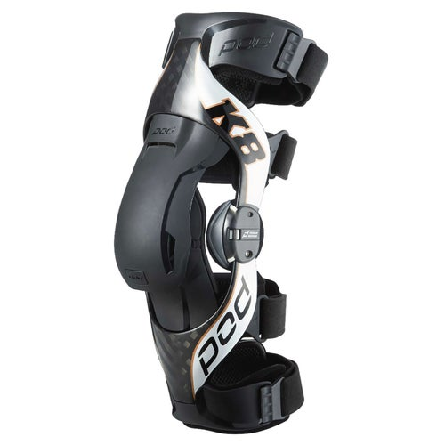 POD K8 V2 Right Knee Brace - Black