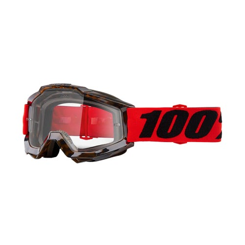 100 Percent Accuri Motocross Goggles - Vendome ~ Clear Lens