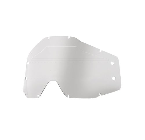 100 Percent Accuri Forecast No Bumps - W/mud Visor Motocross Goggle Lense - Clear