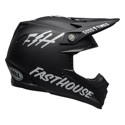 Bell Moto-9 Mips MX Helm - Fasthouse Black White