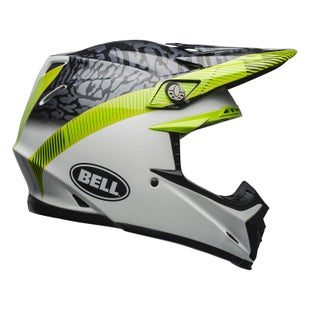Bell Moto-9 Mips MX Helm - Chief M G Black White Green