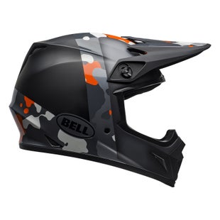 Bell Mx 9 Mips MX Helm - Presence M G Black Flo Orange Camo