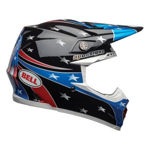 Casco para MX Bell Moto-9 Mips - Tomac Eagle Gloss Black Green