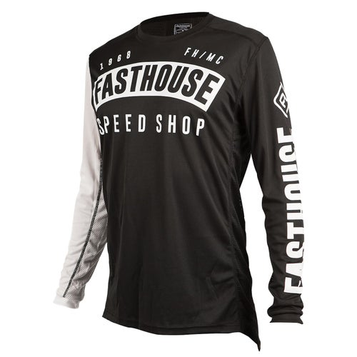 Fasthouse Block L1 Motocross Jerseys - Black