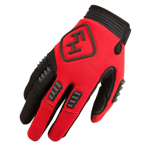 Fasthouse Diesel Motocross Gloves - Red