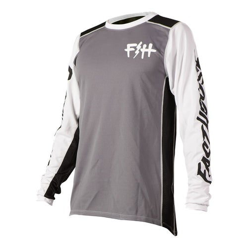 Fasthouse Fh Bolt Motocross Jerseys - Charcoal