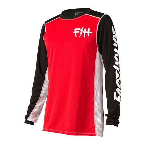 Fasthouse Fh Bolt Motocross Jerseys - Red