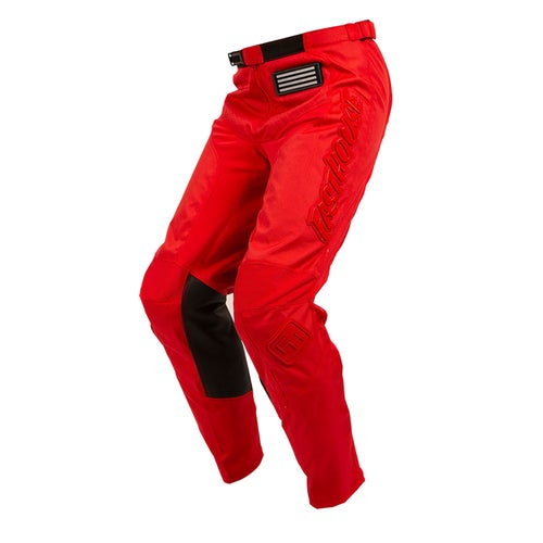 Fasthouse Grindhouse Motocross Pants - Solid Red