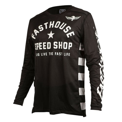 Fasthouse Originals Air Cooled L1 Motocross Jerseys - Black