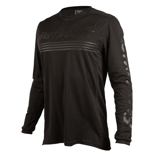 Fasthouse Raven L1 Motocross Jerseys - Black