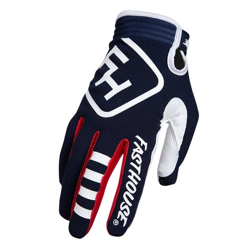 Fasthouse Speed Style Patriot Motocross Gloves - Navy