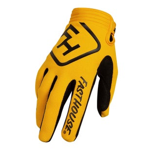 Fasthouse Speed Style Solid Motocross Gloves - Yellow