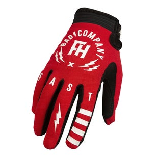 Fasthouse Speed Style Bad Company Motocross Gloves - Red