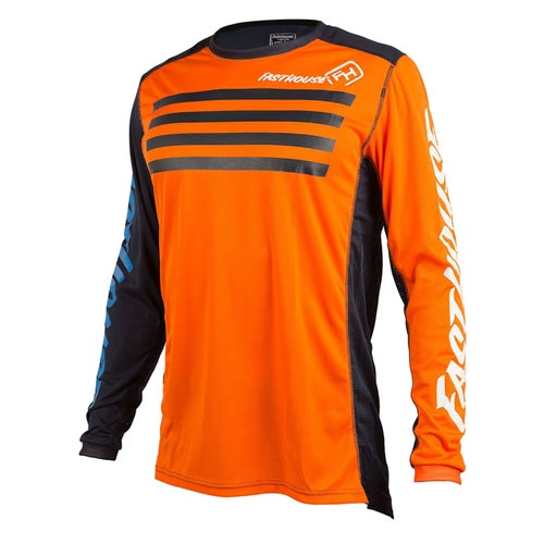 Fasthouse Staple L1 Motocross Jerseys - Orange