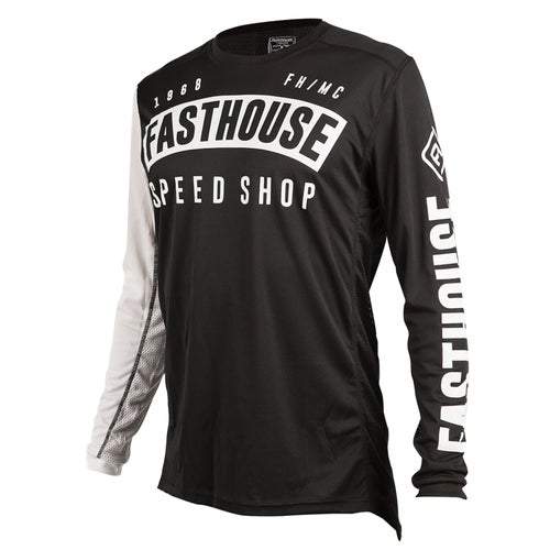 Fasthouse Block L1 Youth Motocross Jerseys - Black