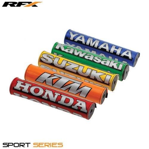 RFX Suzuki Bar Pad , Bar Pad - Yellow
