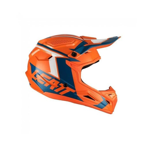 Leatt GPX 4.5 V20 Motocross Helmet - EATT HELMET GPX 4.5 V20 ORANGE DENIM
