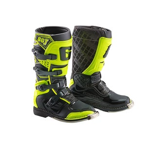 Bottes MX Gaerne Boots SGJ YOUTH - White Yellow Grey