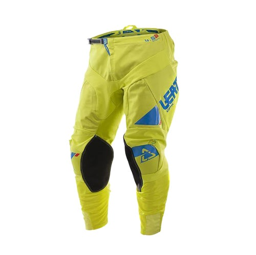 Leatt GPX 4.5 Motocross Pants - Lime Blue