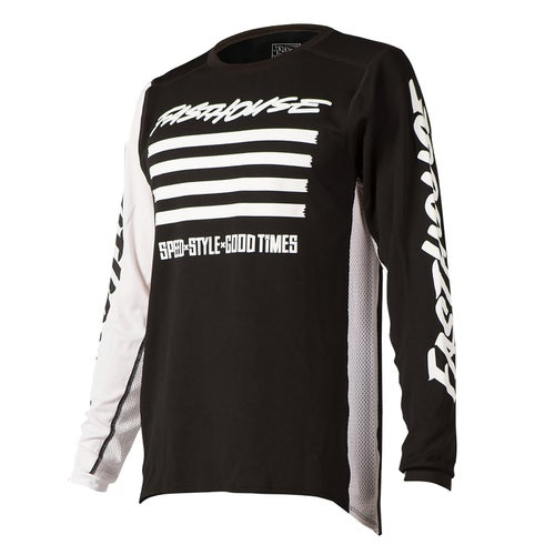 Fasthouse Slash Motocross Jerseys - Black