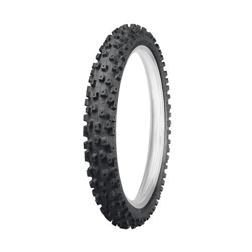 Motocross Tyre Dunlop Geomax MX52 Intermediate Rear Enduro and - Black