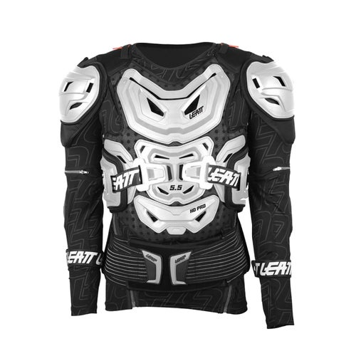 Ochraniacz tułowia Leatt 5.5 Body Protection MX Motocross and Enduro Jacket - White